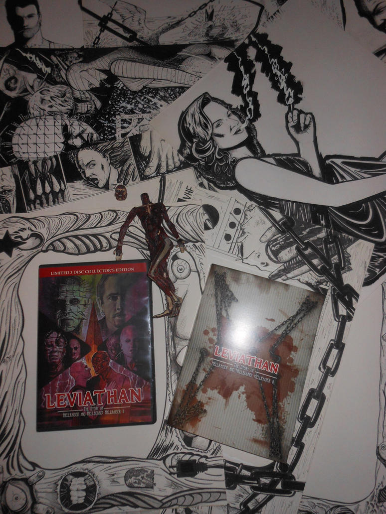 Hellraiser and Hellbound  documentary DVD and art by DougSQ