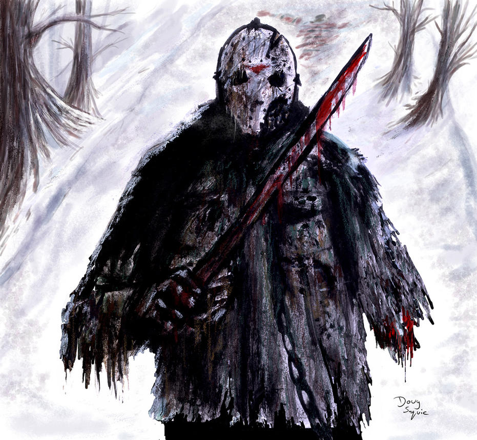 Friday the 13th Jason and Freddy Icestorm by DougSQ