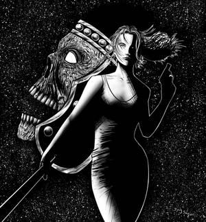 Eternal Darkness Alexandra Roivas inks