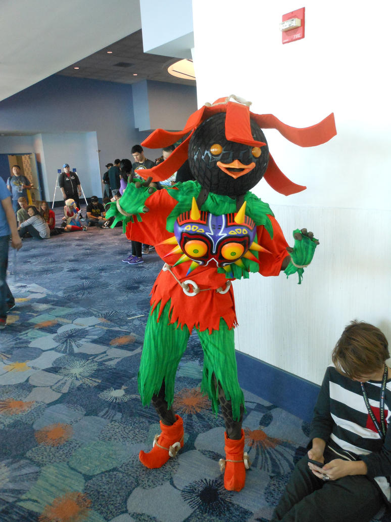 Wondercon 2017 ,Zelda Majora's Mask Skull Kid by DougSQ on DeviantArt