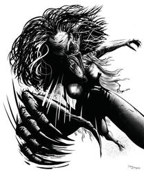 Fright Night Regine Monster by DougSQ