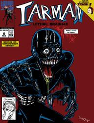 Tarman Lethal Brainiac issue 0 by DougSQ