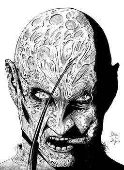 Freddy Krueger  Smoking Inks