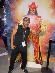 San Diego Comic Con 2019 Me and Macho Man