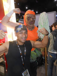San Diego Comic Con 2019 Toxic Crusader