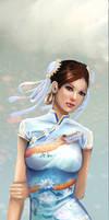 Chun Li Dress Colored