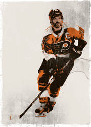 Claude Giroux by BrainDown