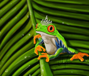 Queen Frog Ana