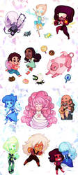 Steven Universe Stickers by ShyCustis