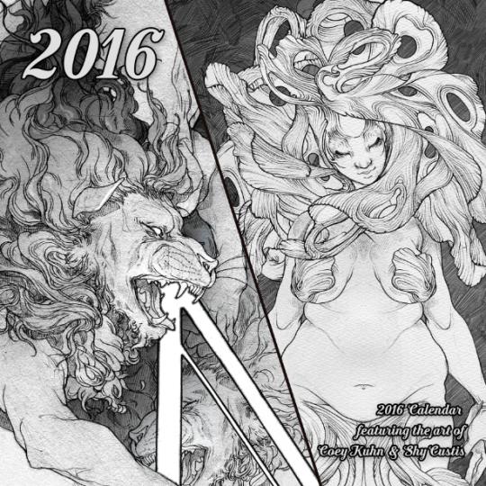 Patreon Calendar by ShyCustis