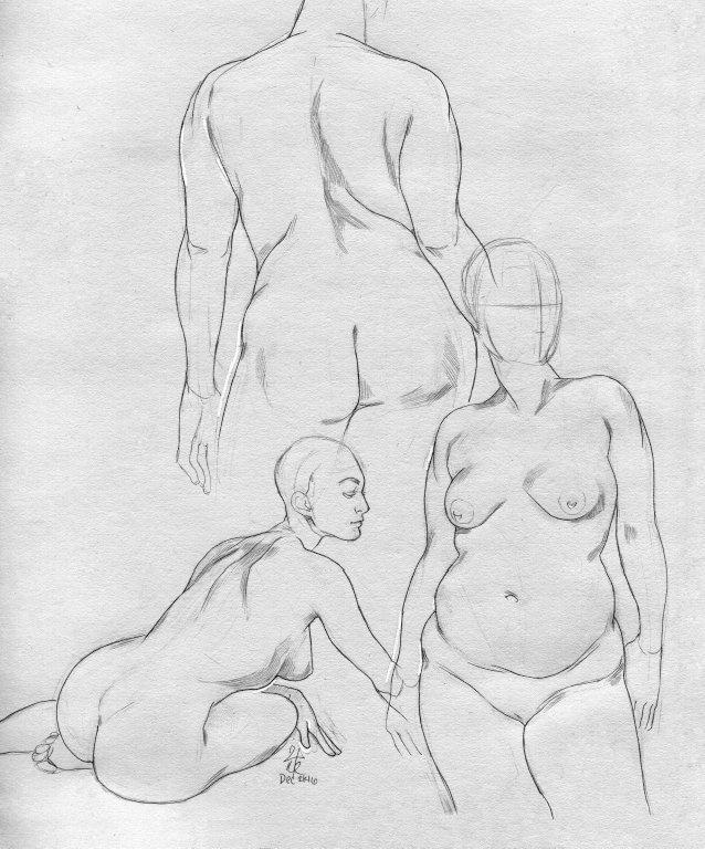 Figure Studies by ShyCustis