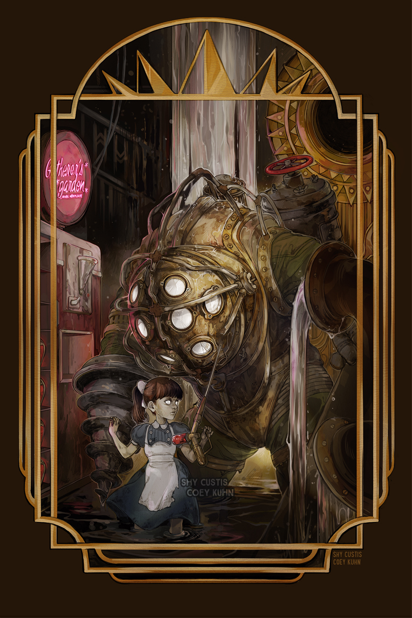 BioShock (collaboration) by ShyCustis