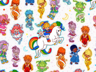 Rainbow Brite Pattern by ShyCustis