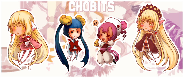 ChobitsStickers by ShyCustis