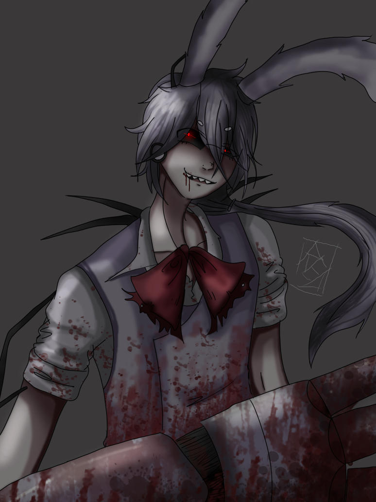 Human drawkill Bonnie by redlaserartist