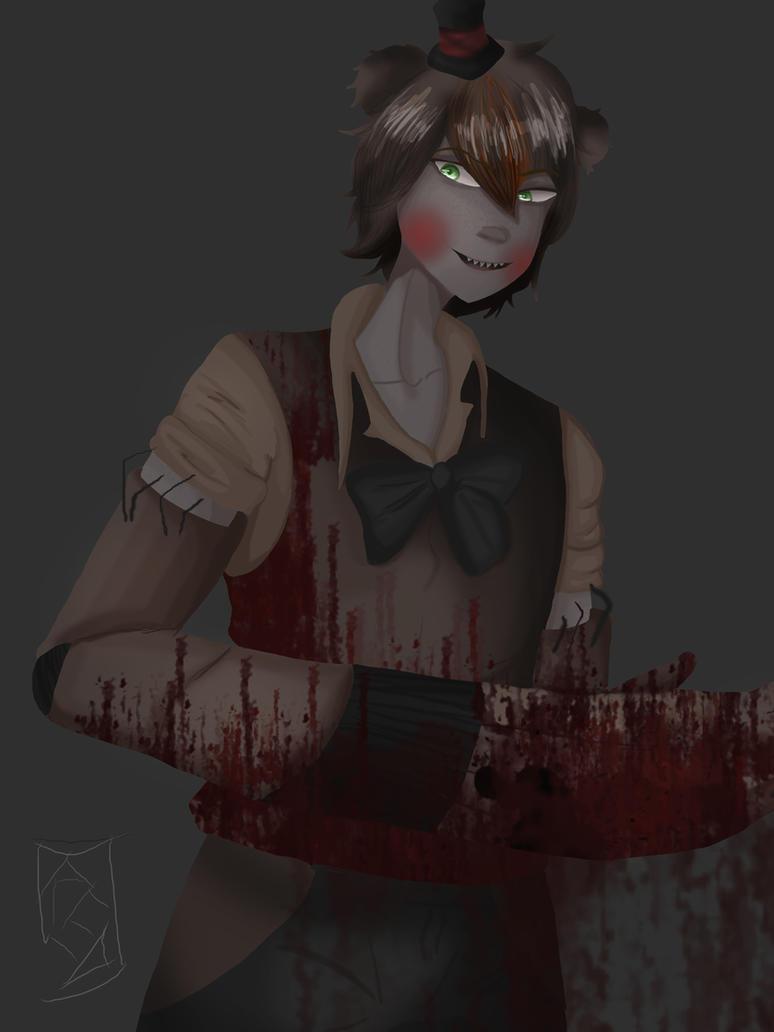 Drawkill Toy Freddy by redlaserartist