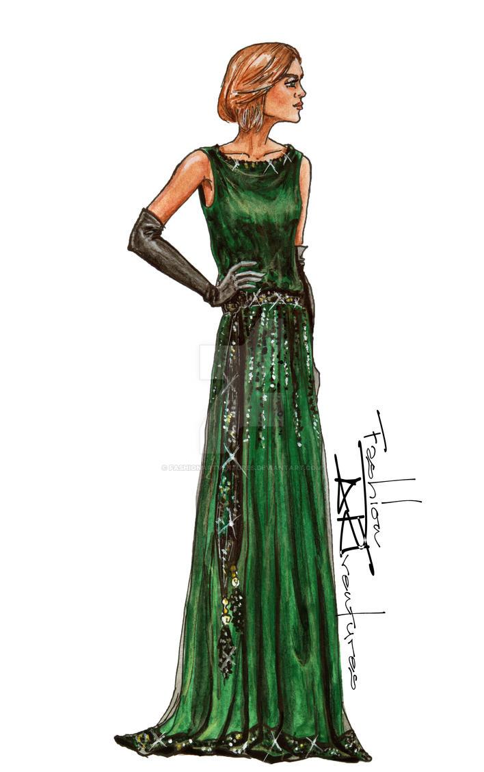 Lady Edith Crawley/ Laura Carmichael/Downton Abbey by FashionARTventures