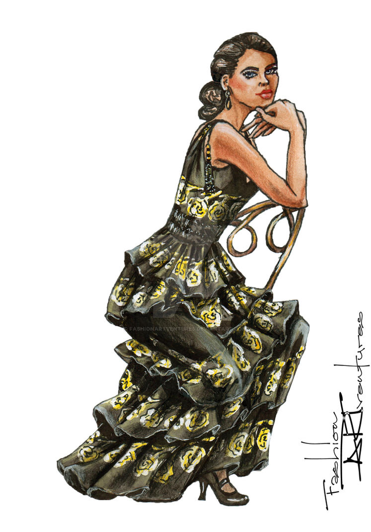 Lady Sybil Crawley/ Jessica Brown Findlay by FashionARTventures