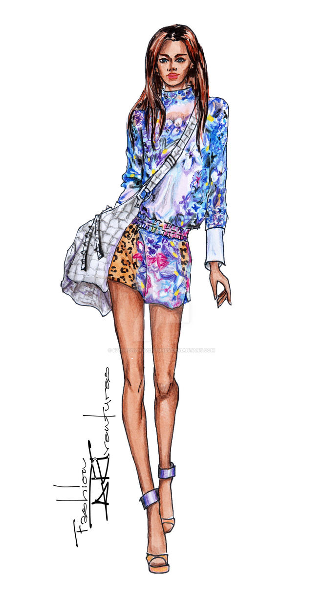 Just Cavalli at the Milan Fashion Week 2013 by ...