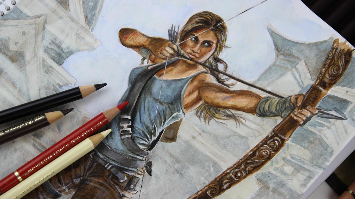 Tomb Raider screenshot by FashionARTventures