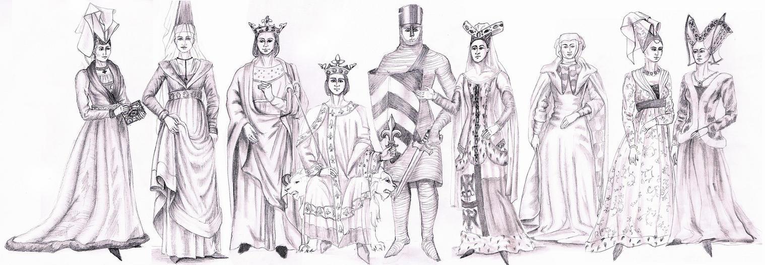 MEDIEVAL GOTHIC FASHION Fashion History Study By FashionARTventures