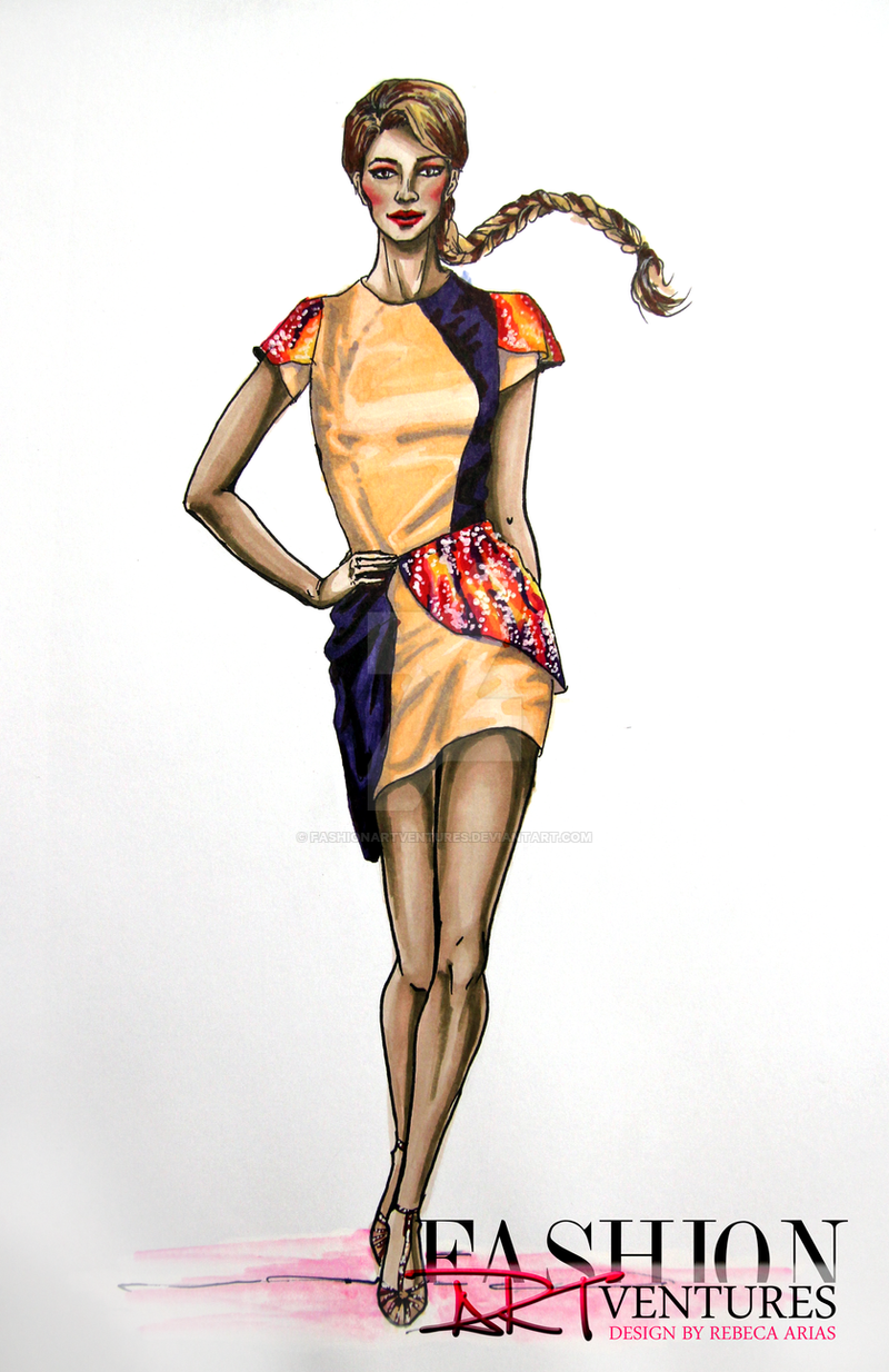 Fashion ARTventures ft. Rebeca Arias by FashionARTventures