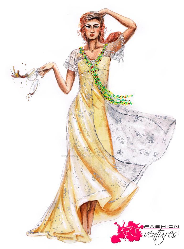 Kate Winslet's/ Rose's Breakfast dress by FashionARTventures