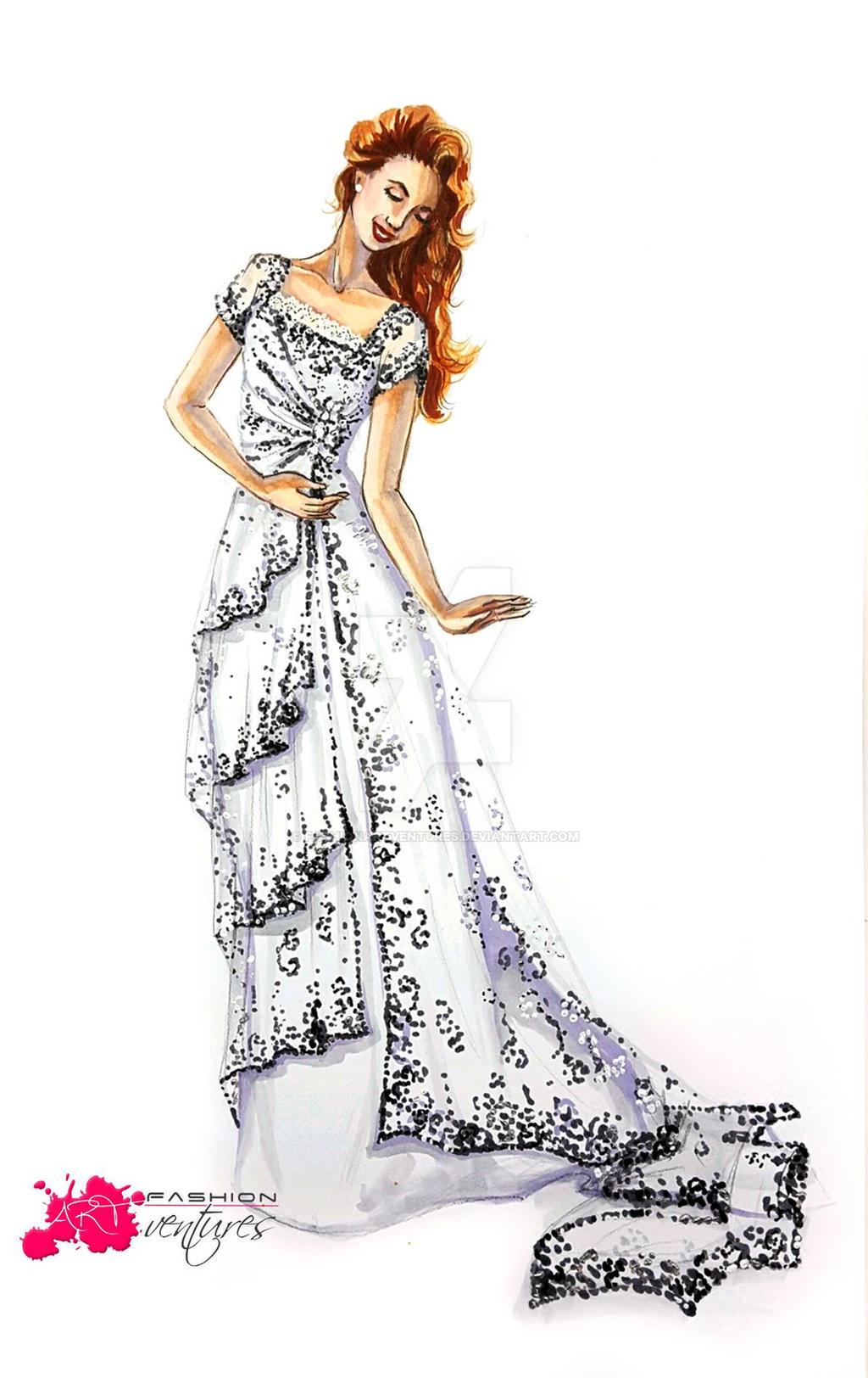 Rose's Heaven Gown | Titanic by FashionARTventures