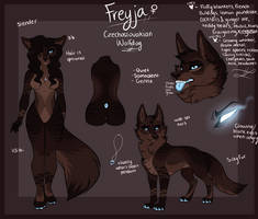 The Words So Sweet - Freyja Reference 2017-18 by AethonGryphon