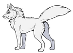 Free To Use - Wolf Base (+TRANSPARENT LINEART)