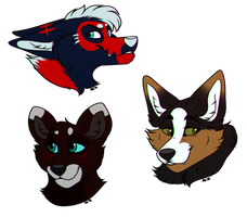 2018 Holiday Gift Busts - Batch Two by AethonGryphon
