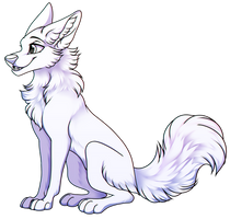 2020 REMAKE - Free To Use - Canine Sitting Pose