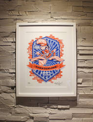 ZoelOne limited edition Riso print - The Kraft