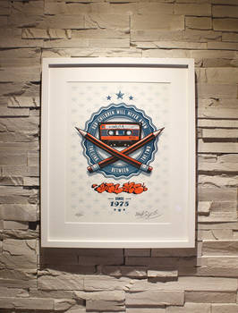 ZoelOne limited edition Riso print - The Link