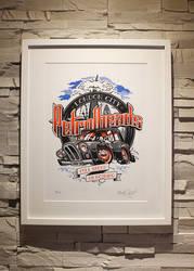 ZoelOne Riso print - London City PetrolHeads