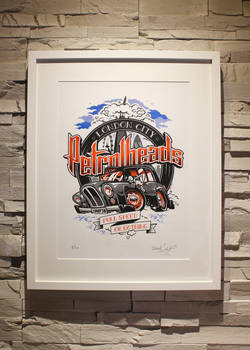 ZoelOne Riso print - London City PetrolHeads