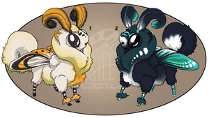 Mottipups Batch 1 [Auction: Closed] by ResidualAdopts