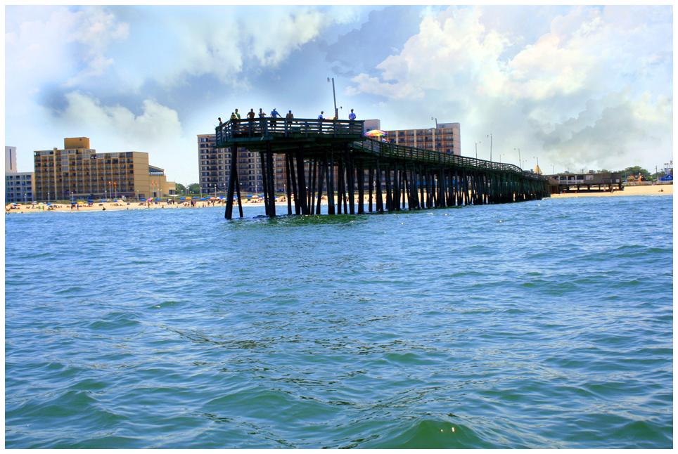 Virginia beach fishing pier 2 by deliciaa on deviantart for Va beach fishing