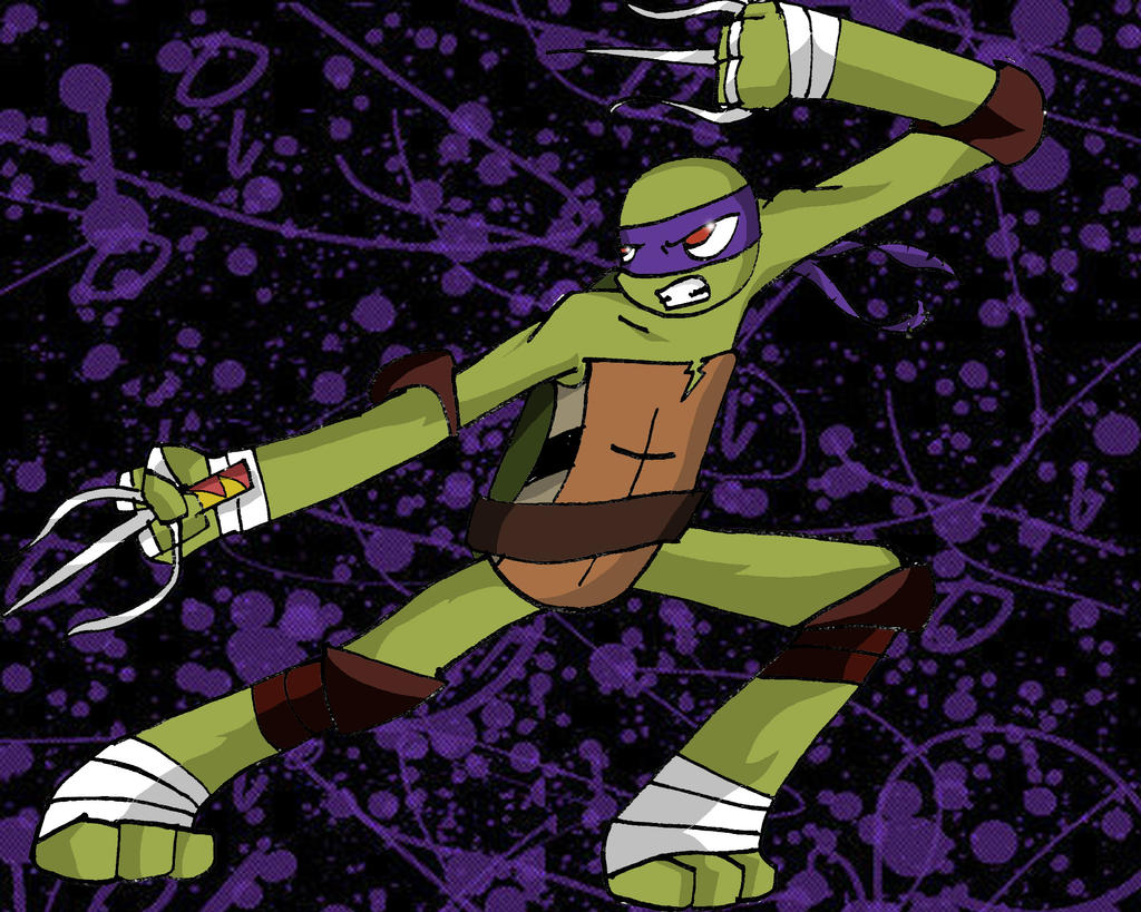 Raph As Donnie by SirMadam