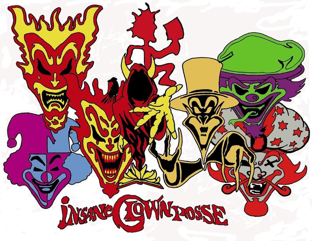 ICP Jokers Cards by freak862Icp Joker Card Drawings