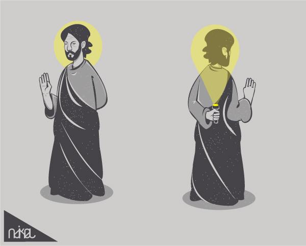 funny deity by ndikol