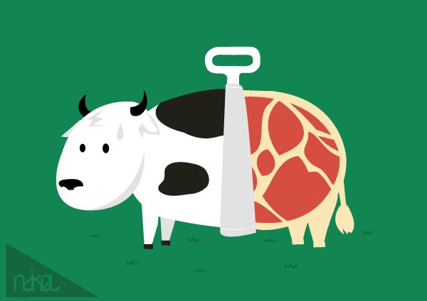 meat packaging by ndikol