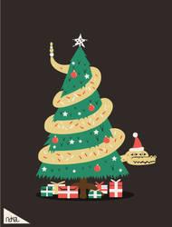 Christmas tree by ndikol