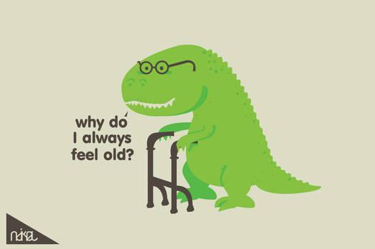 why do i always feel old ?