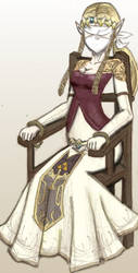 AnimeGagged's Twi Zelda bfold by Topologist
