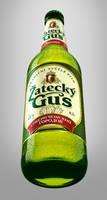 'Zatecky Gus' 3D bottle