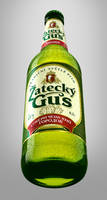 'Zatecky Gus' 3D bottle by 4Ddesigner