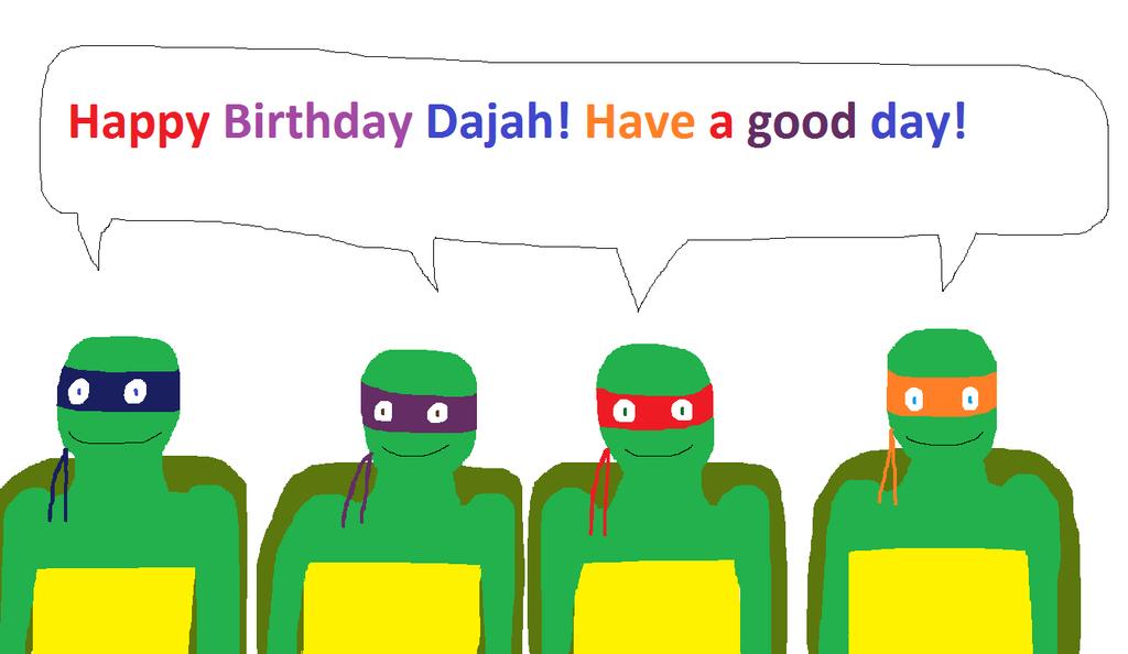 Happy Birthday Dajah by DanielBenner214