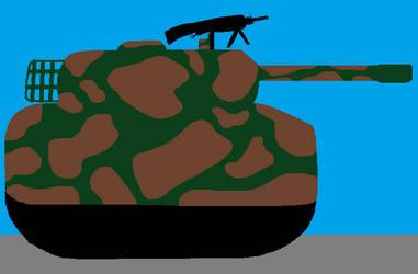 Abrams Tank (Woodland Camo) by DanielBenner214