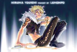 Hiruma the devil by LemonPo